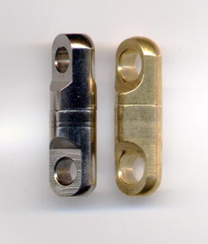 Grey or brass heavy brass